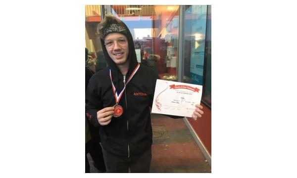 Concours National de l'homme- Janvier 2017- Antoine Médaille de Bronze EAT