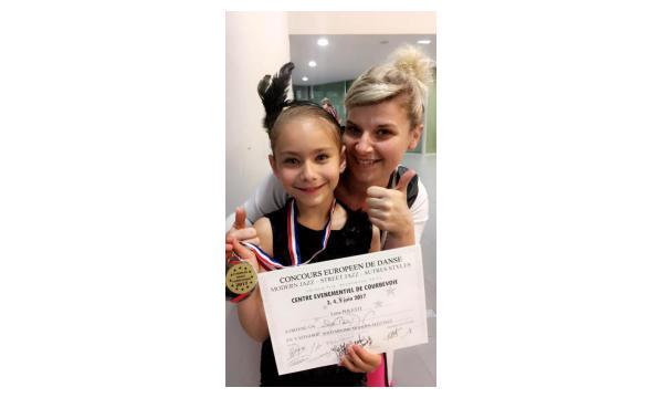 Luna - Concours Européen Dance Compétition - 2ème Prix Jazz minime