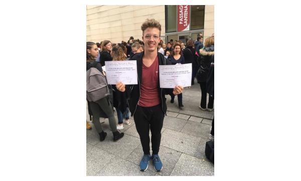 1er Prix National - Antoine EAT Autre Style - 2ème Prix EAT Jazz