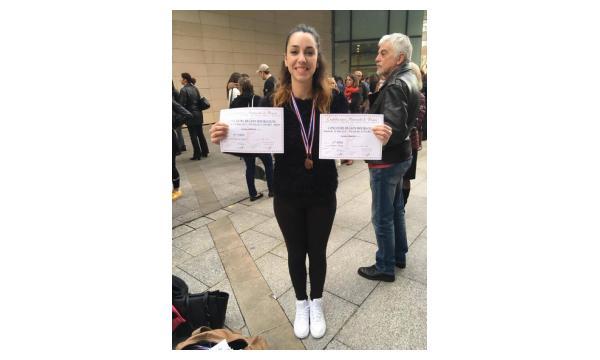 3ème Prix - Cyrielle EAT Contemporain et Jazz