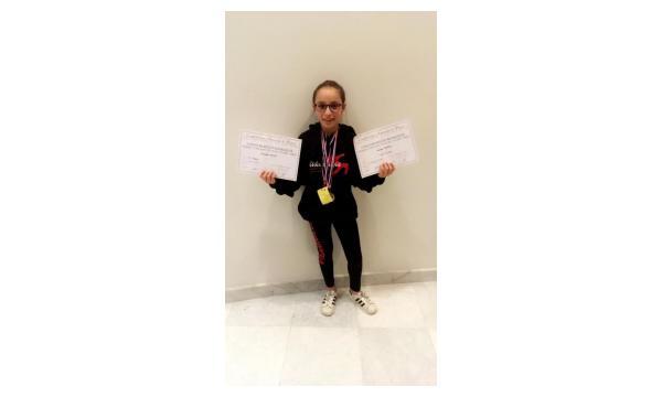 Alexane 1er regional Jazz et 3ème Prix Classique Préparatoire