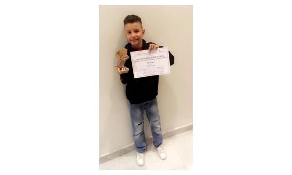 Ryan 1er prix accès national Hip Hop catégorie 1