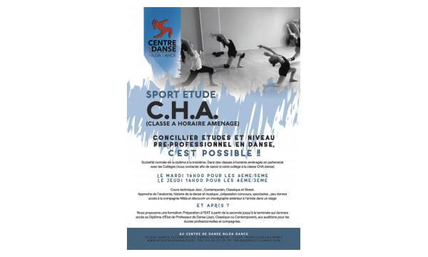 CHA - classe à horaire aménagé - Montceau-les-mines - Nilda Dance