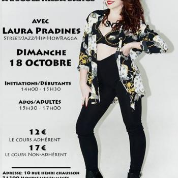LAURA PRADINES STAGE Street/Jazz/Hip Hop/Ragga