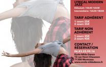 Stage Sabrina Lonis - Dimanche 5 Mars - Centre de danse Nilda Dance - Montceau-les-mines