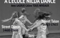 Stage de Pré-Rentrée - Lagrue Céline - Centre de danse Nilda Dance - Montceau-les-mines